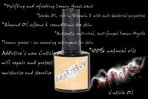 ADDICTIVE CUTICLE OIL